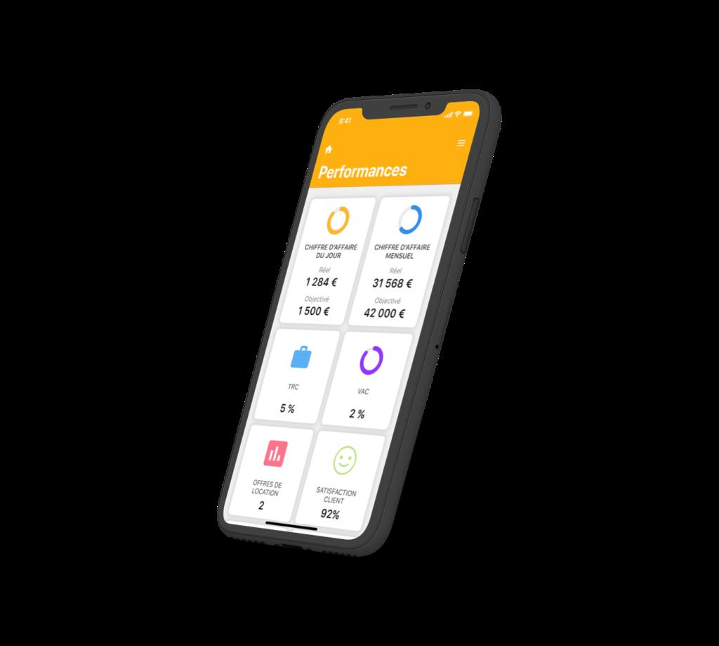 Application mobile sur-mesure