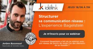 Structurer sa communication réseau : l'expérience Bagelstein