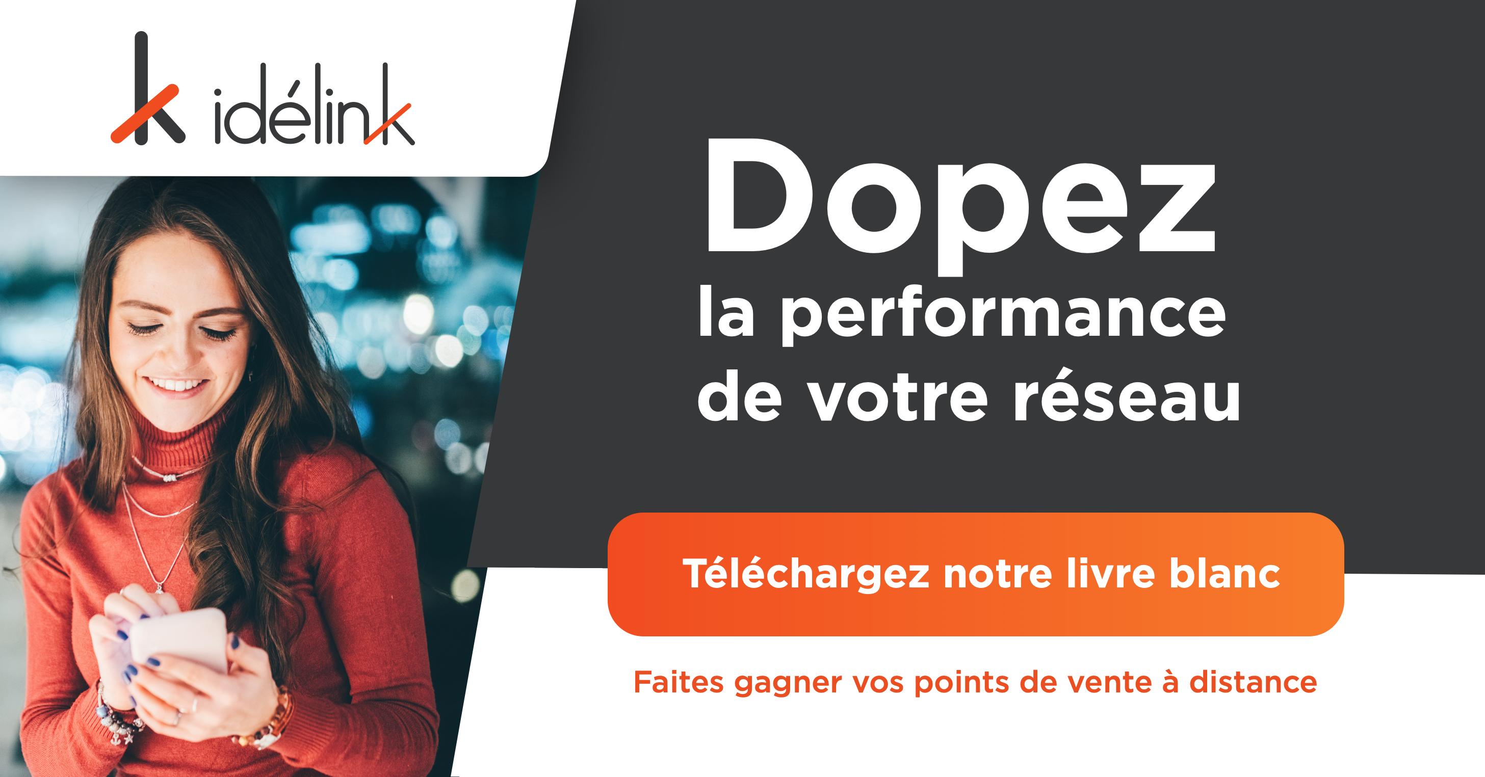 Livre blanc - Faites gagner vos points de vente à distance - Idelink