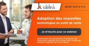 Adoption des nouvelles technologies en point de vente