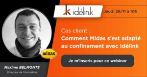 Comment Midas s'est adapté au confinement avec Idelink ?